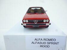 OTTO MOBILE Alfa Romeo Alfasud Sprint Red OT160 1:18 NEW OVP