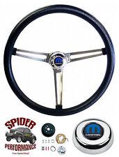 """1968-1969 Charger steering wheel 15"""" STAINLESS Grant steering wheel"""