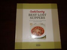 Cook's Country Best Lost Suppers Old Fashioned Home Cooked Recipes HB VGC