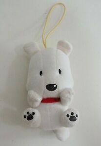 "TAMA & Friends Dog POCHI  Dog Strap Mascot Eikoh Plush 5"" Toy Doll Japan"