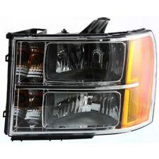 For Sierra 2500 HD 07-14, CAPA Driver Side Headlight, Clear Lens