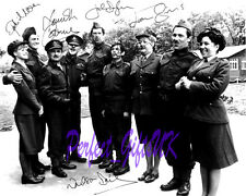 CARRY ON ENGLAND CAST SIGNED 10x8 PP PHOTO joan sims