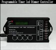 5CH RGBW RGB CW/WW LED Programmable Timer timmer Dimmer Controller DC12-24V 20A