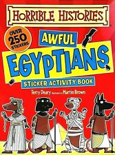 Horrible Histories, Awful Egyptians, Kids' Sticker Activity Book, Terry Deary
