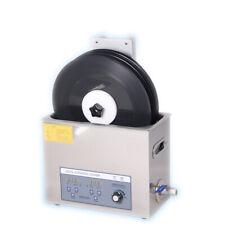 Liftable Vinyl Record Ultrasonic Cleaner LP Timing Washing Machine 110V new