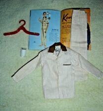 Vtg Barbie Ken  #781 Tan Pajamas Milk Booklet Lot 5 Outfit Nice  Sleeper Bedtime