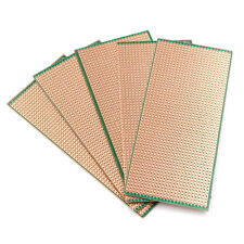 5X 6.5x14.5cm Stripboard Veroboard Uncut PCB Platine SingleSide Circuits BoardOI