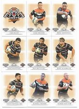 2018 NRL Elite WESTS TIGERS 9 Card Mini Team Set