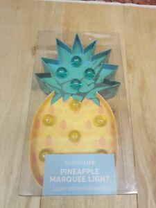 Sunnylife Pineapple Marquee Light Home Décor