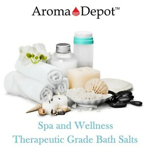 Purifying Soaking Salts Natural Scented Detox Dead Sea Bath Salts Soak  1oz 5LB