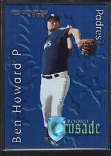 BEN HOWARD 2002 DONRUSS #26 RC ROOKIE CRUSADE PADRES SP #0992/1500
