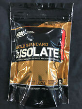 Optimum Nutrition Gold Standard 100% Isolate Whey Protein 12 servings 360gm New