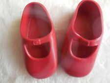 """Vintage Ideal Shirley Temple Doll Shoes Red 1972 16"""" Doll"""