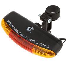 XC Versatile Mountain Bike Blinker Bicycle Taillight Horn Stoplights G5a6