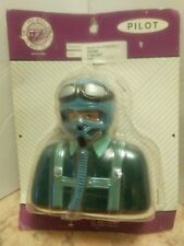 RADAR CO. SCALE AIRPLANE  PILOT STATUE 102MM TALL NOS
