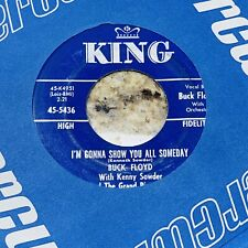 Buck Floyd on King RARE COUNTRY BOP ROCKABILLY 45 EX