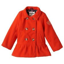 NWT Girls 2T Red OshKosh Wool Like Peacoat  ADORABLE JACKET!
