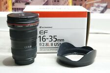 Canon EF 16-35mm f/2.8 L II USM Wide-Angle Lens Excellent condition! Barely Used