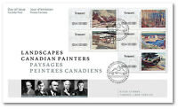 CANADA 2016 CANADIAN ARTISTS PERMANENT KIOSK STAMPS FIRST DAY COVER