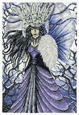 DMC Faerywoods Snow Queen Fairy Counted Cross Stitch Kit BK918