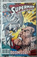 1992 Superman The Man Of Steel #19 NM- Doomsday. First Print News Stand
