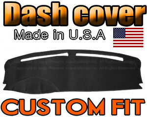 fits 2009 - 2018  FORD  FLEX  DASH COVER MAT DASHBOARD  PAD /  BLACK