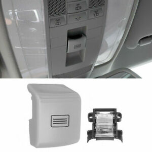 Fit 07-11 Mercedes-Benz Sunroof Window Switch Button Cover W204 -212-W218 (Grey)