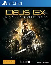 Deus Ex Mankind Divided Day One Edition PS4 New & Sealed