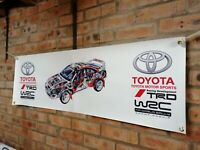 Toyota Celica GT4 ST205 trd wrc  large pvc  WORK SHOP BANNER garage