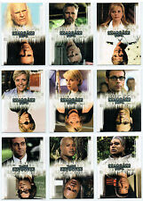 STARGATE SEASON EIGHT COMPLETE SET OF 9 TWISTED CARDS