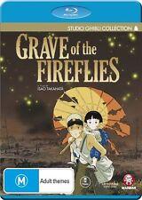 Grave of the Fireflies NEW B Region Blu Ray