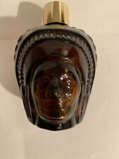 Vintage Collectible Avon Glass Spicy Aftershave Indian Perfume Bottle Empty