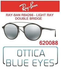 Occhiali da Sole RAYBAN RB4266 620088 Round Double Bridge Sunglasses Ray Ban NEW