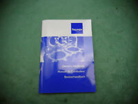 TRIUMPH OWNERS MANUAL (int*B) MANUEL Bedienungsanleitung TIGER 1050 2007-