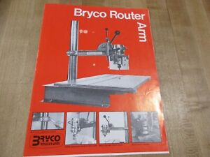Bryce Router Arm Brochure a division of Shopsmith (b)