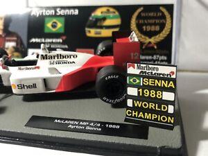 Pitboard 1:43 (Pizarra F1) / Ayrton Senna (McLaren) 1988 / World Champion
