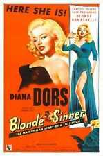 Blonde Sinner Poster 02 A4 10x8 Photo Print