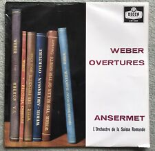 DECCA LXT 5505  WEBER OVERTURES - ANSERMET - LP RECORD