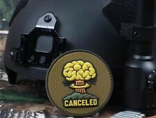 CANCELED 3D FALLOUT ATOMIC BOMB AIRSOFT TACTICAL MORALE Hook/Lp RUBBER PVC PATCH