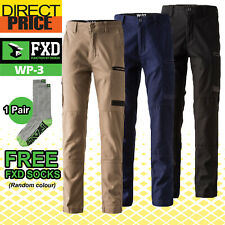 FXD Work Pants Stretch WP-3 Workwear Cotton Straight New WP3Tradies Pants