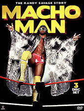 Macho Man: The Randy Savage Story 2015 DVD 3 disc set