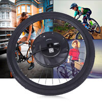 """Electric Bicycle Bike Conversion Kit Ebike Hub Motor for Front Wheel 26"""" US SALE"""