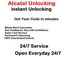 Unlock Code Alcatel 2038X 5044Y 4034X 5010X VFD200 V300 V500 V700  Ultra 7 1016G