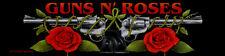 Guns N Roses OFFICIAL Woven Patch Pistol LOGO intrecciate ricamate U.S. sleaze metal