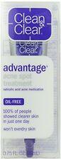 Clean & Clear ADVANTAGE Acne Spot Treatment Oil-Free 0.75 oz Each