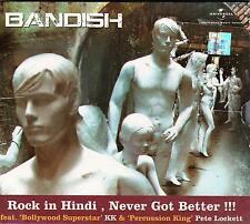 BANDISH - ROCK IN HINDI NEVER GOT BETTER - BRAND NEW CD - FREE UK POST