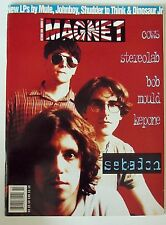 "MAGNET Magazine October 1994 Stereolab, Bob Mould, SEBADON, 7"" Record FAMILY CAT"
