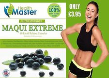 MAQUI BERRY EXTREME WITH GREEN TEA 60 WEIGHT LOSS DIET DETOX CAPSULES