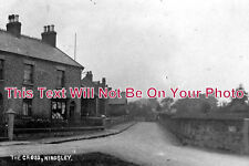 CH 250 - Post Office, The Cross, Kingsley, Frodsham, Cheshire c1907 - 6x4 Photo