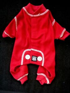 Petrageous Dog Red Pajamas Outfit Size X Small NEW